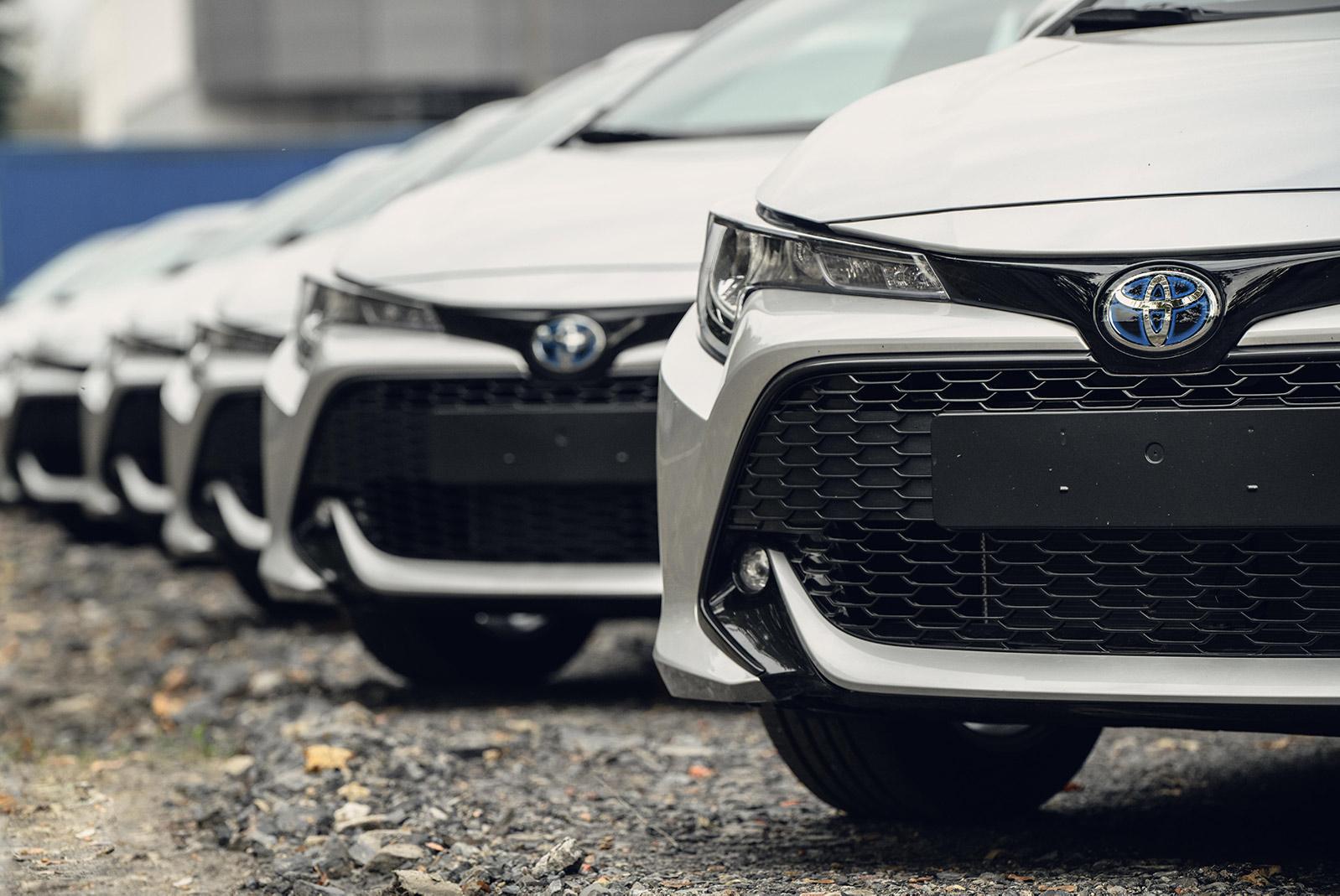 Toyota najem